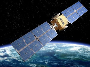 Artist's rendition of a satellite - paulfleet/123RF Stock Photo