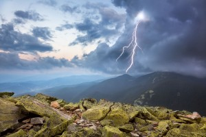 Lightning, Copyright: Taiga / 123RF Stock Photo