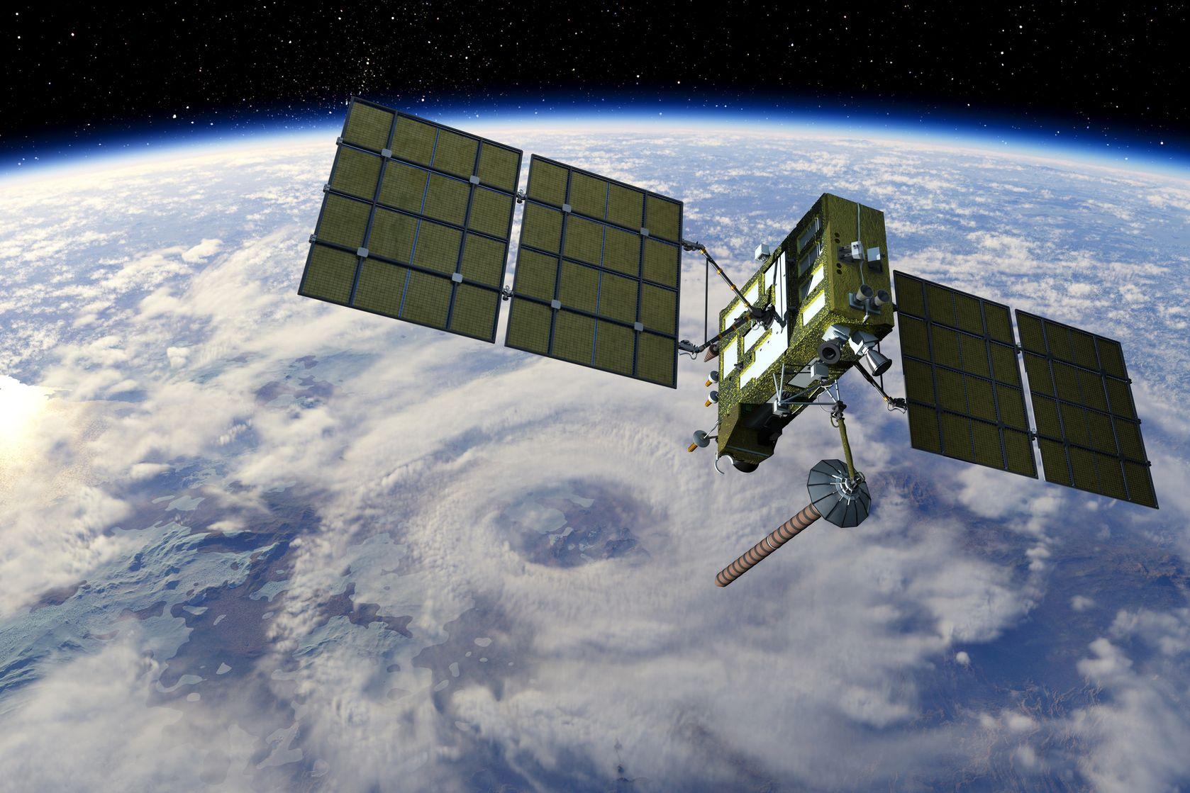 Artist's rendition of a satellite - 3dsculptor/123RF Stock Photo