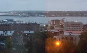 Early morning photograph of Portland, Maine