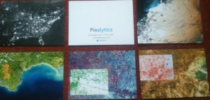 Pixalytics promotional postcards