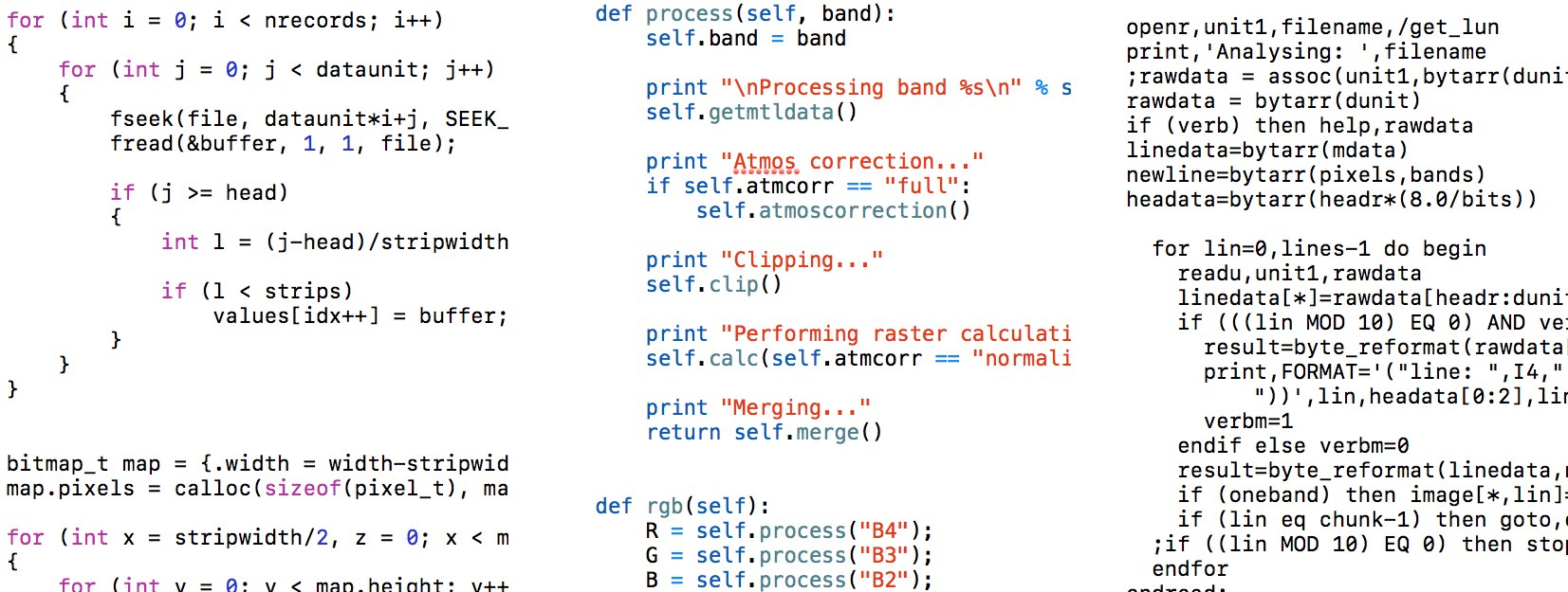 Remote Sensing: Learning, Learned & Rewritten   Pixalytics Ltd