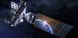 Artist impression of the GOES-R satellite. Image courtesy of NASA.