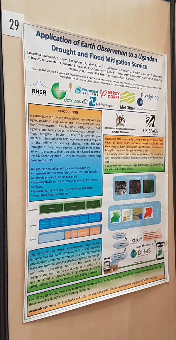 Esa pixalytics ltd application of earth observation to a ugandan drought and flood mitigation service poster sciox Gallery