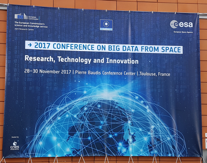 2017 conference on big data from space