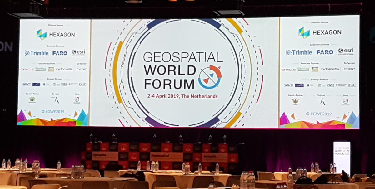 Geospatial World Forum 2019 venue photo